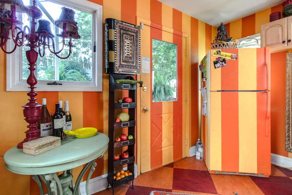 Funky , colorful Victorian House