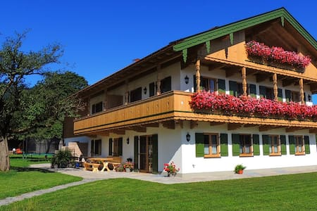 Traumurlaub auf dem Grasmüllerhof - Lenggries - Apartment