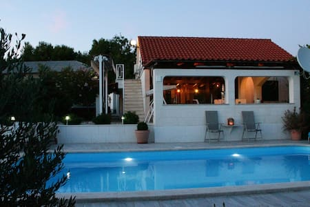 House Marija near Trogir, pool & jacuzzi - House
