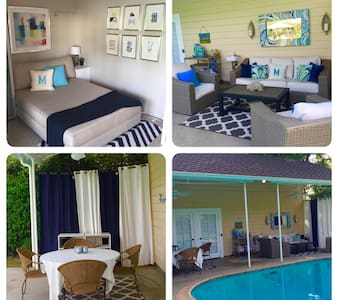 Guest House - 1/2 acre pool/patio private entrance - Los Angeles