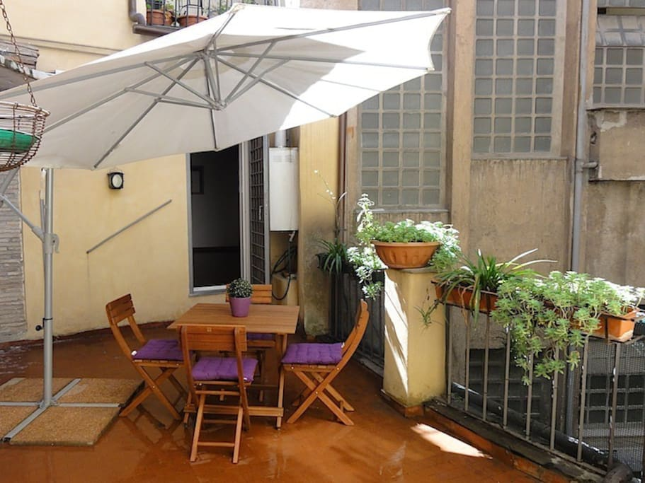 Private Terrace -  Paolina Apartment