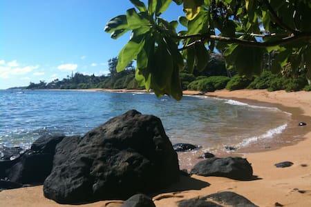 Incredible Ocean Beach Location! - Anahola - Bed & Breakfast