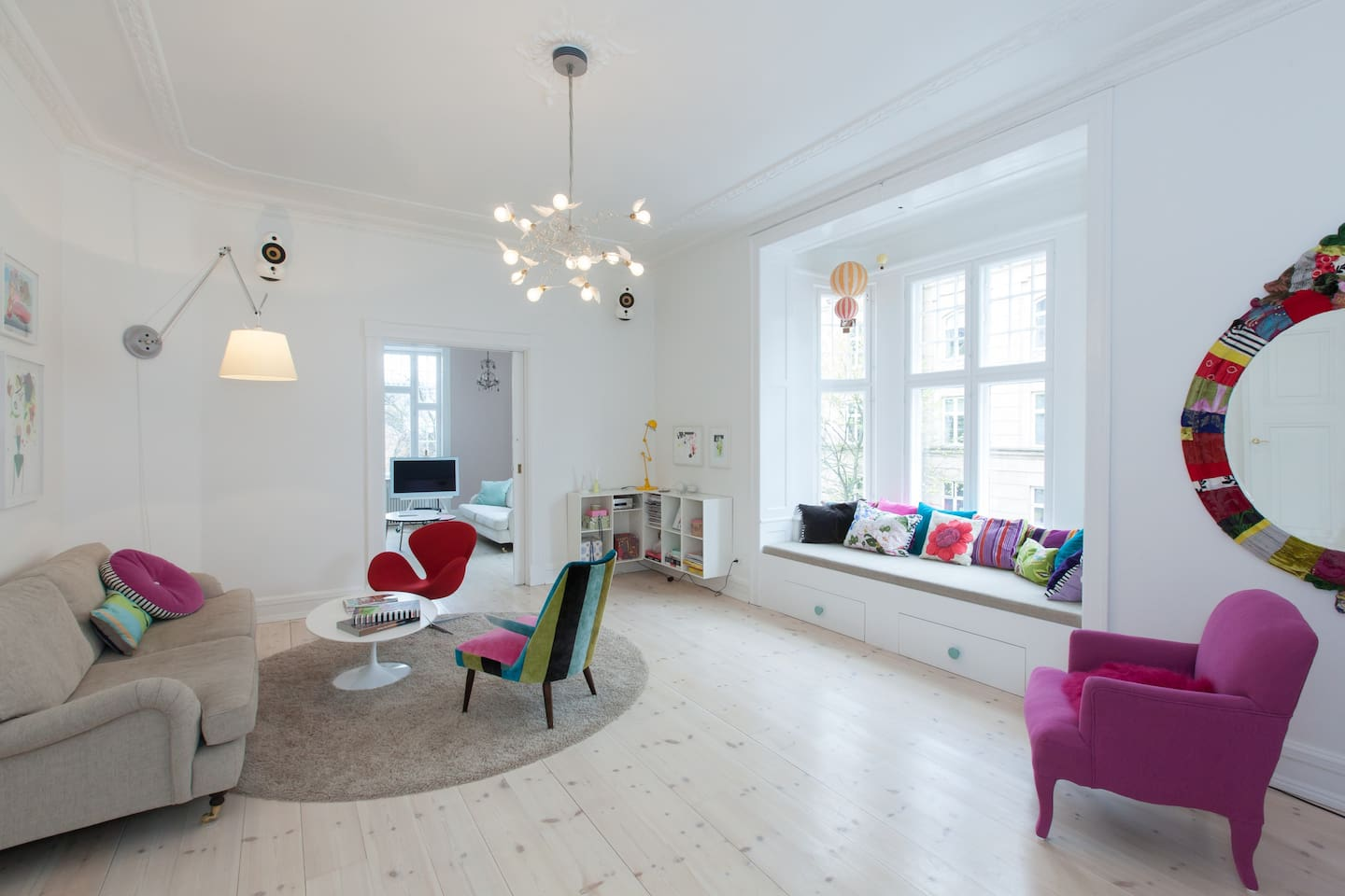 Stunning apartment in lovely area!