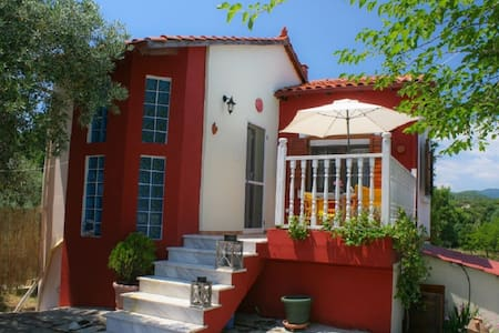 3 BD, Detached house, Sea view in Ierissos Athos - Ierissos