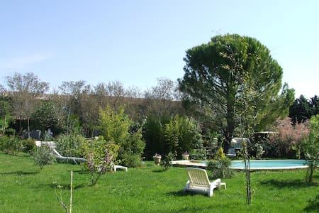 gite t5meuble en campagne piscine - Manosque - Hus