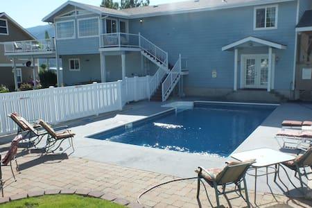 The Blue Water Pool House-Lake Chelan - Manson - Hús