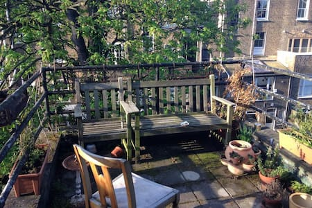 Amazing terrace to enjoy London (N1) this summer!! - London - Apartment
