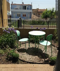 Room for 2 near nature and 5 minute walk to beach - Wohnung