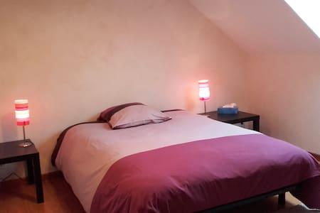2 Chambres tt confort calme absolu à 2' de l'A714 - Haus