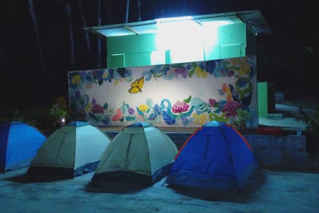 Tents under stars near KLIA - Sepang
