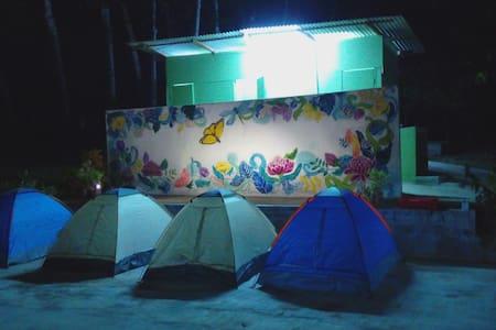 Tent under stars near KLIA - Sepang