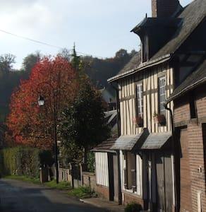 Les Hirondelles, charmante maison avec jardin - Dům