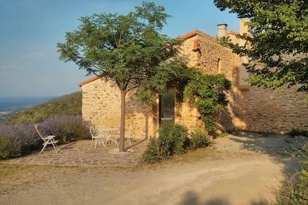 Gite pleine nature dans mas catalan - Reynes - House