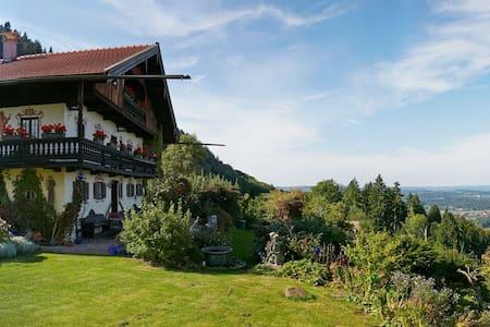 Das Röslerhaus - Balkonzimmer - Fischbachau - Oda + Kahvaltı