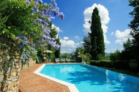 Cozy cottage with private pool near San Gimignano - Casole d'Elsa - Rumah