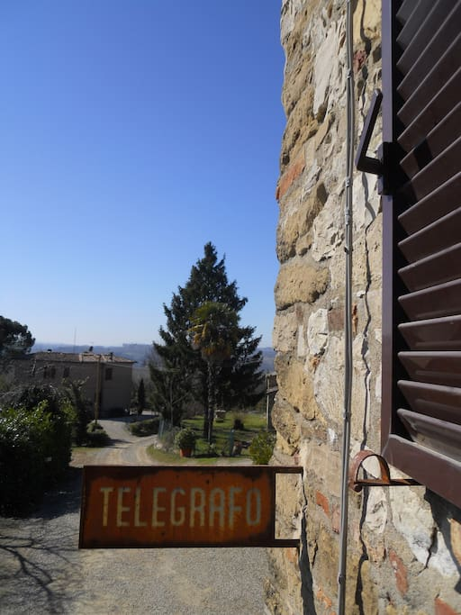 The old Telegraph sign
