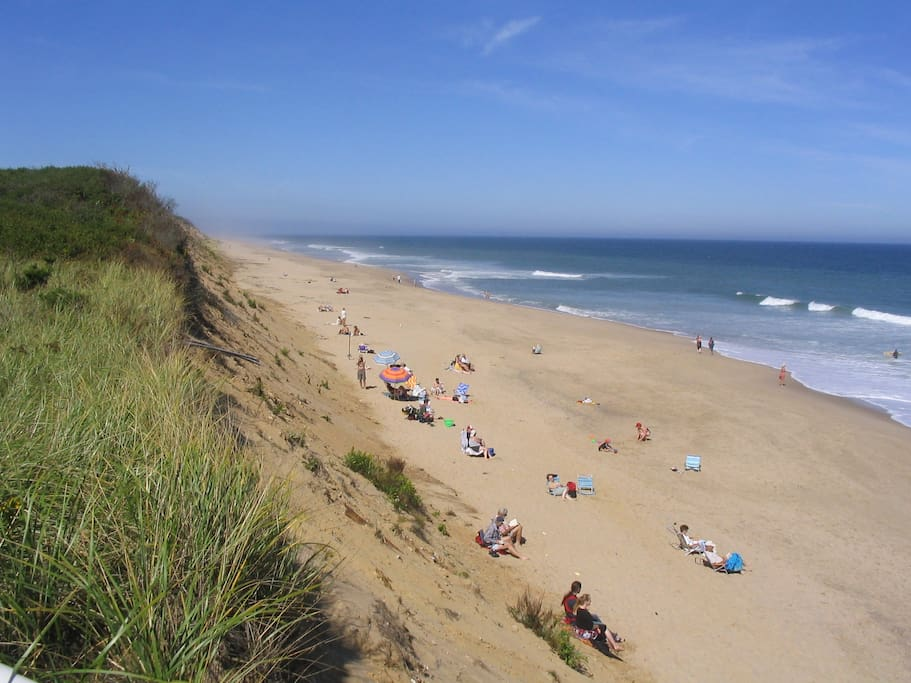 Nauset Beach is less than a 5 minute drive down Brick Hill / Beach Road. It's annually rated a top beach on Cape Cod. Parking can be limited, so get there early!