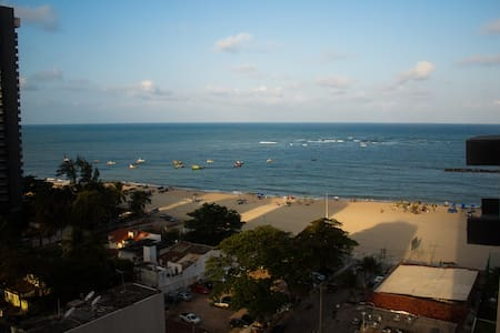 Studio with a view (40m from Beach) - Jaboatão dos Guararapes - Apartment