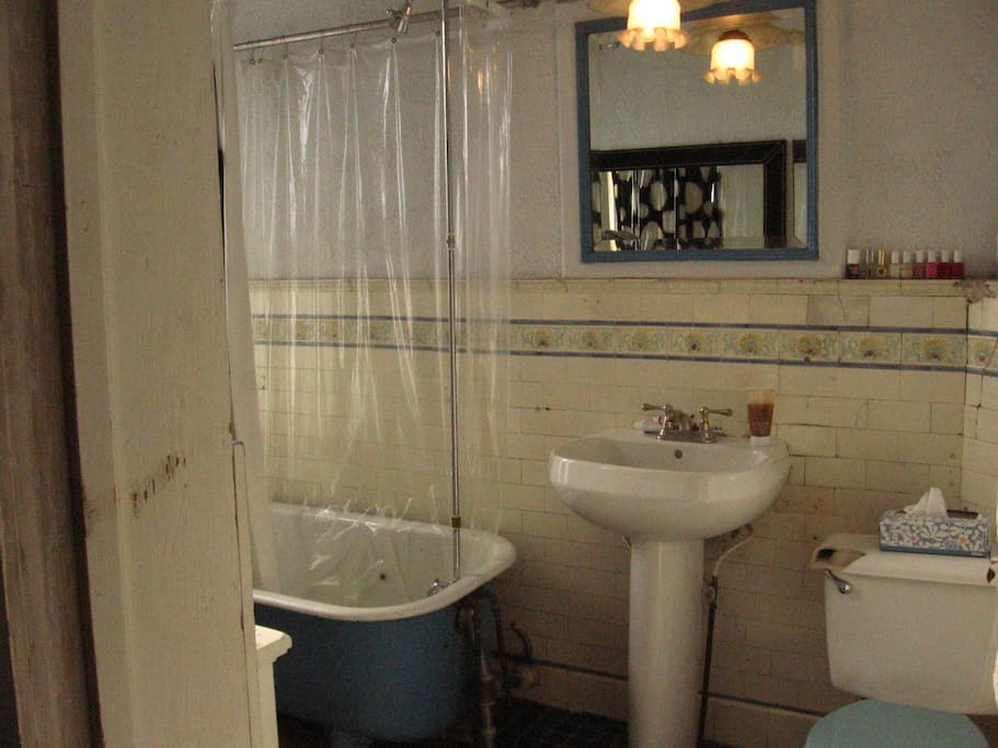 large spacious bathroom
