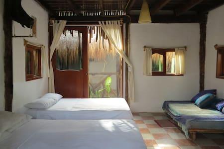 Room, balcony & Cenote, Beach Zone - Tulum - Cabin