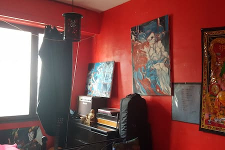 Chambre/ Appartement d'artiste - Nice - Apartment