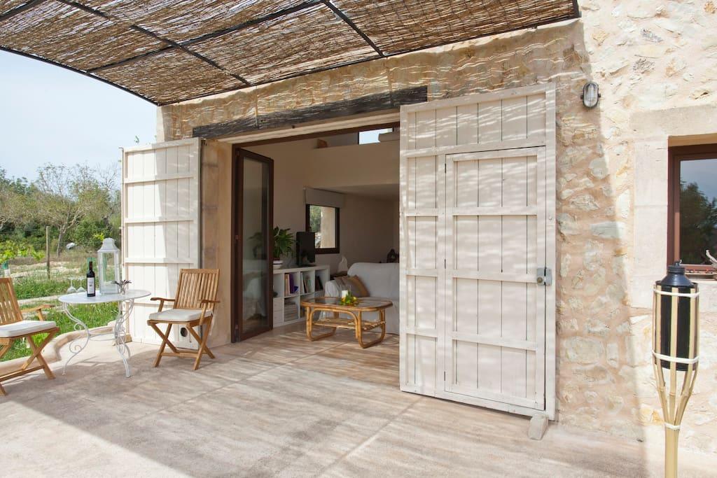 Bio Land-Ferienhaus auf Mallorca