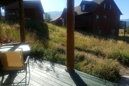 Views, privacy in a cozy room - Steamboat Springs - House