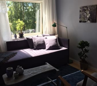 Relaxing and peaceful room - near subway and buses - Apartamento