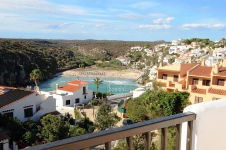 INCREÍBLES vistas/AMAZING views - Cala en Porter - Apartamento