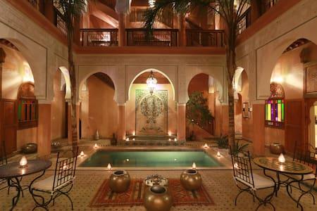 Riad hôtel jnane Agdal & Spa Médina Marrakech - Marrakesh - Bed & Breakfast