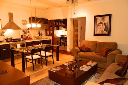 Lovely & trendy apartment in La ROMA district - Condominium