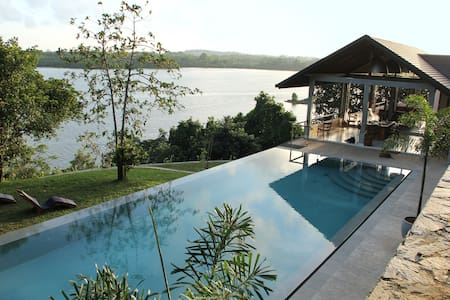 Serene Koggala Lake view! Sea Heart House. - Casa