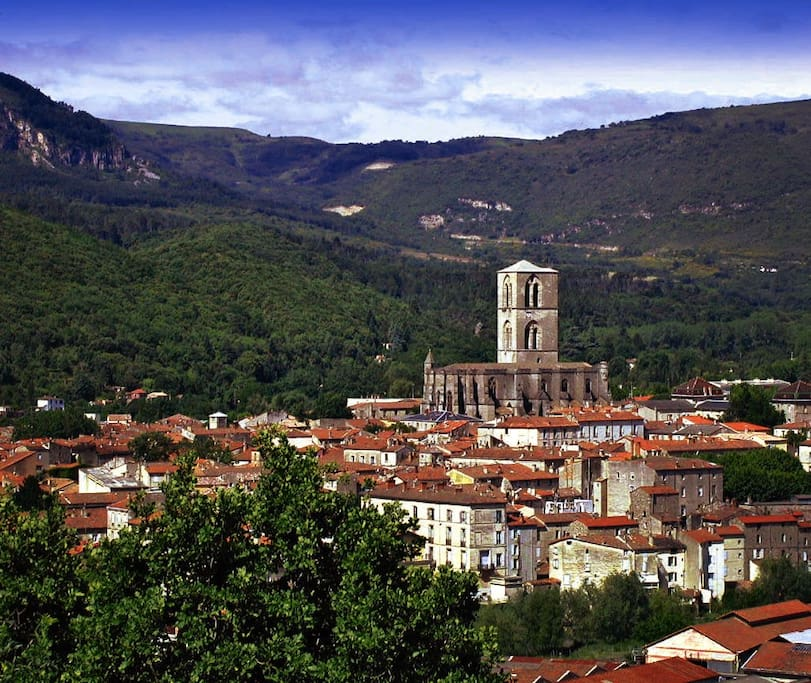 View of Lodéve