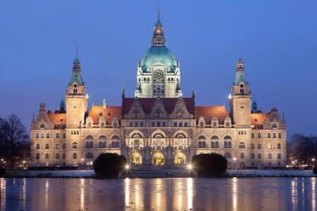 Luxuriöse 4-Zi Whg in Hannover - Wohnung