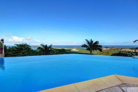 Villa Montabel 5 Ch piscine et vue - Le Vauclin