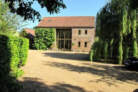 The Hay Barn in beautiful Oxborough - Oxborough - Huis