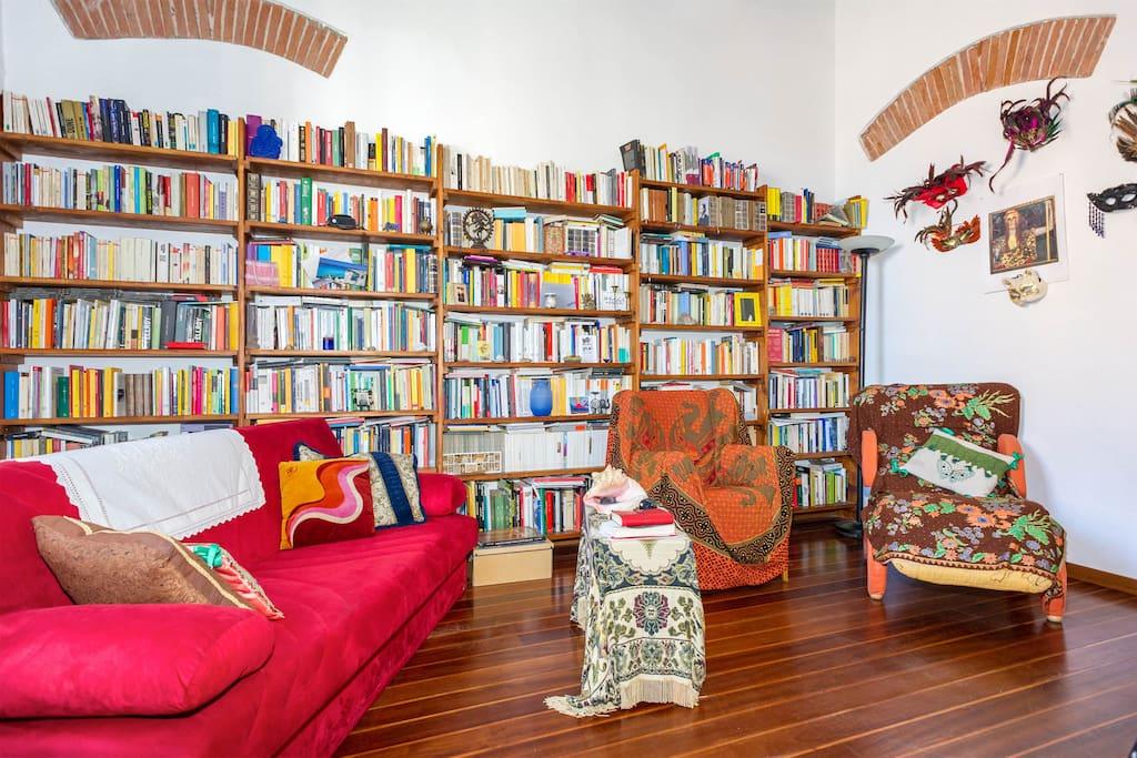 Camera-libreria  a Livorno
