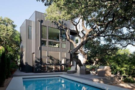 Modern 3-Story, Pool, Garden Living