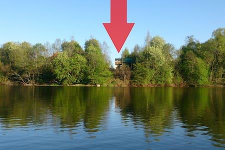 Дом с баней на берегу водохранилища - Zhukovka