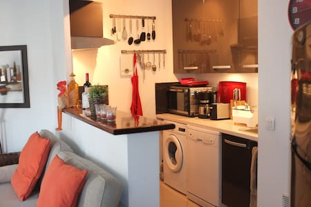 Modern apartment in central Antibes - Antibes - Apartment