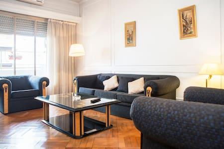 Exclusivo Recoleta full 8 pax 110m2 - Buenos Aires - Apartment