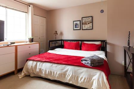 Air conditioned room & private bath