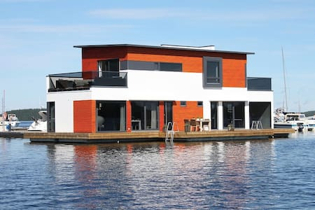 Floating luxurious house - Huis
