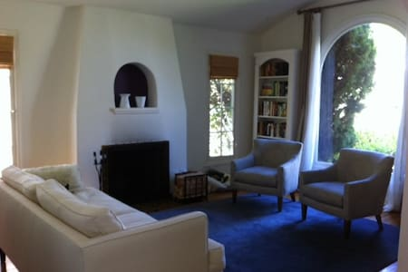 Sunny, Spanish-style home