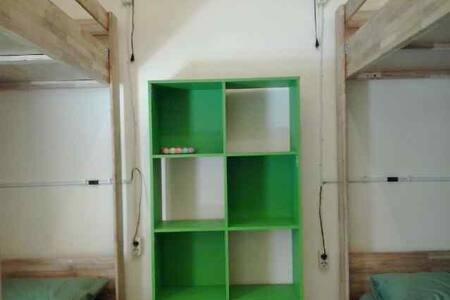 BUNK-BEDS Mbok Limbok 2 ROOM/WIFI