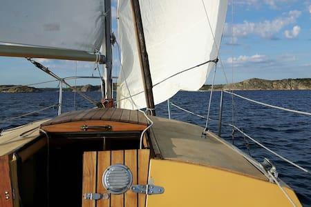 20 foot sloop. Sail or fish lobster