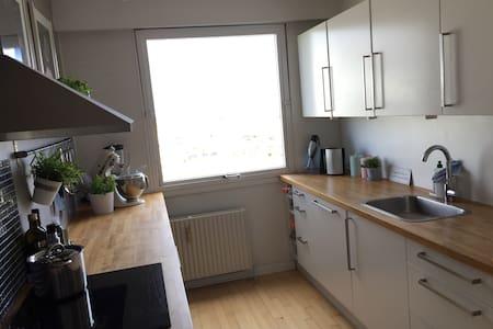 Rummelig lejlighed 10 min fra Århus - Appartement