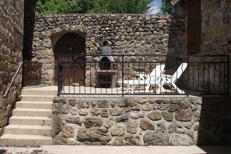 Maison en pierre au coeur de l'Ardèche - Gluiras - Ev