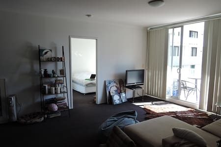 Master Bedroom with Ensuite and Balcony - Zetland - Apartment