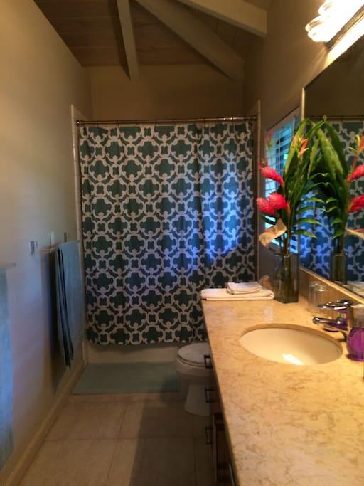 Lanai Suite bathroom